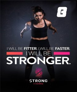[Hot Sale] 2018 New Course Strong By Zumba Vol.08 HD DVD+CD