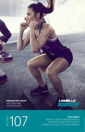 LESMILLS BODY STEP 107 VIDEO+MUSIC+NOTES