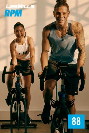 [Hot Sale]2020 Q4 LesMills RPM 88 New Release 88 DVD, CD&Notes