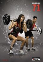 Les Mills Bodypump 71 DVD, CD, Notes Body Pump