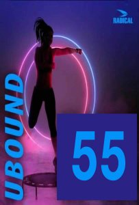 [Hot Sale]2021 Course Radical Fitness U BOUND 55(DVD+CD)