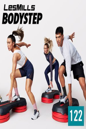 Hot Sale]2021 Q1 LesMills BODY STEP 122 New Release DVD,CD&Notes