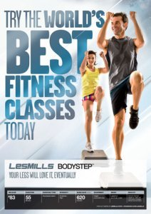 LESMILLS BODY STEP 83 VIDEO+MUSIC+NOTES