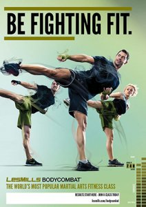 Les Mills BODY COMBAT 55 Complete DVD, CD and Notes
