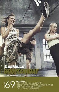 Les Mills BODY COMBAT 69 Complete DVD, CD and Notes