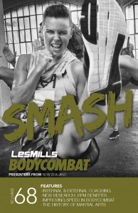 Les Mills BODY COMBAT 68 Complete DVD, CD and Notes