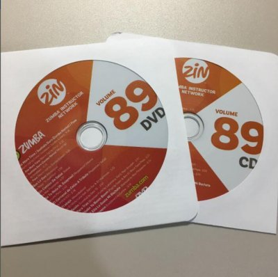 [Hot Sale]2020 Q4 New dance courses ZIN ZUMBA 89 HD DVD+CD