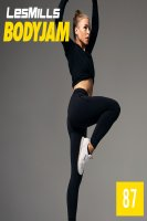 LesMills Routines BODY JAM 87 DVD + CD + NOTES