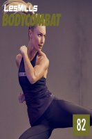 Les Mills BODY COMBAT 82 Complete DVD, CD and Notes