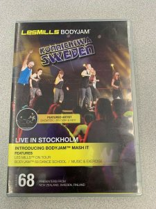 Les Mills BODY JAM 68 Complete with DVD, CD, Instructor Notes