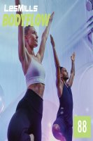 LesMills BODY BALANCE 88 New Release BODY FLOW 88 DVD,CD & Notes