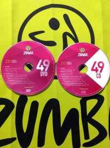 [Hot Sale]2018 New dance courses ZIN ZUMBA 49 HD DVD+CD