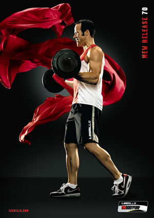 Les Mills Bodypump 70 DVD, CD, Notes Body Pump