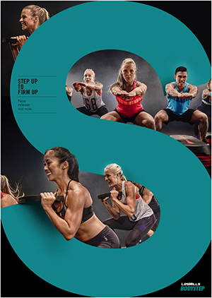 LesMills Routines BODY STEP 119 New Release BS119 DVD,CD&Notes