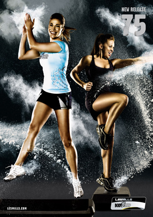 LESMILLS BODY STEP 75 VIDEO+MUSIC+NOTES