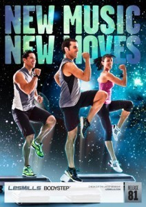 LESMILLS BODY STEP 81 VIDEO+MUSIC+NOTES